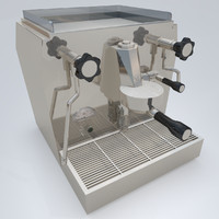 3d fbx giotto premium coffee machine