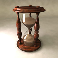 3d hourglass hour glass