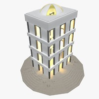 real building 3d model