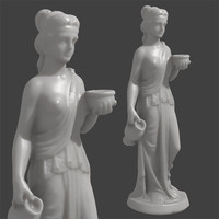 3D Scan of Hebe the Cupbearer (Goddess of Youth)