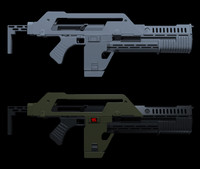 3d m41a pulse rifle