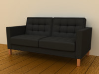 IKEA KARLSTAD Loveseat Two-seat sofa