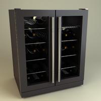 wine chiller 3d model