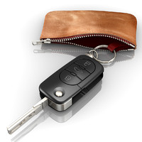 3ds modeled audi car key