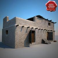 afghanistan house v6 3d model