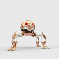 dsd1 dwarf spider droid 3d model