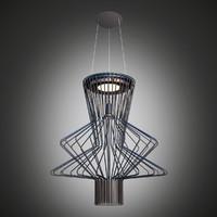 3d lamp foscarini allegro model