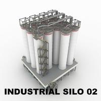 Industrial silo 02