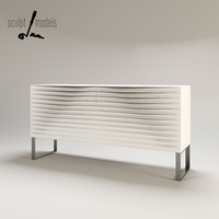tide cabinet 3d model