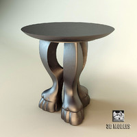 coffee table baker 3d model