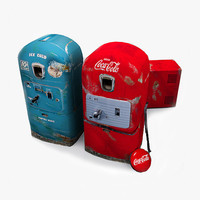 Retro Vending Machine Set