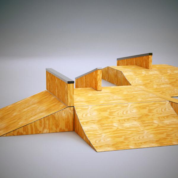 how to make a skatepark in skate 3