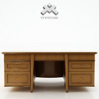 3d photorealistic writing desk -