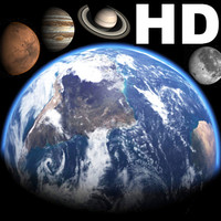 Incredible HD Earth and planets