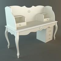 3ds max desk details