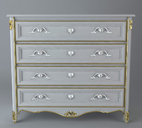 Photoreal Antique Dresser