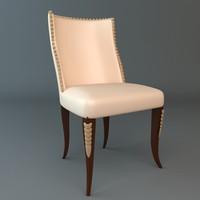 3d model chair materials