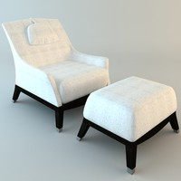 3d giorgetti normal armchair