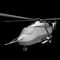3d model australian mrh 90 helicopter