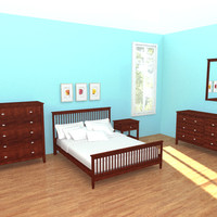 maya bedroom bed