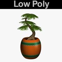 bonsai tree pl 3d model