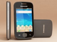 3d samsung s5660 galaxy gio model