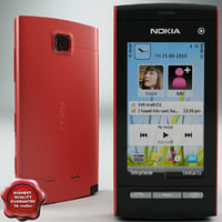 lightwave nokia 5250 red
