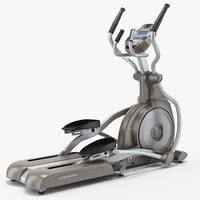 3d professional elliptical trainer spirit model