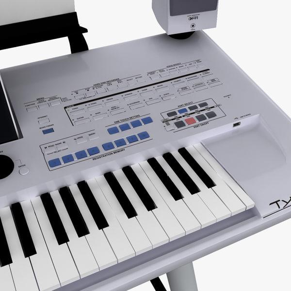 max workstation keyboard yamaha tyros. Black Bedroom Furniture Sets. Home Design Ideas