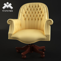 Luxury Executive Chair with tufted back