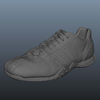 scan skecher sneaker shoe 3d obj