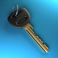 3ds max door key