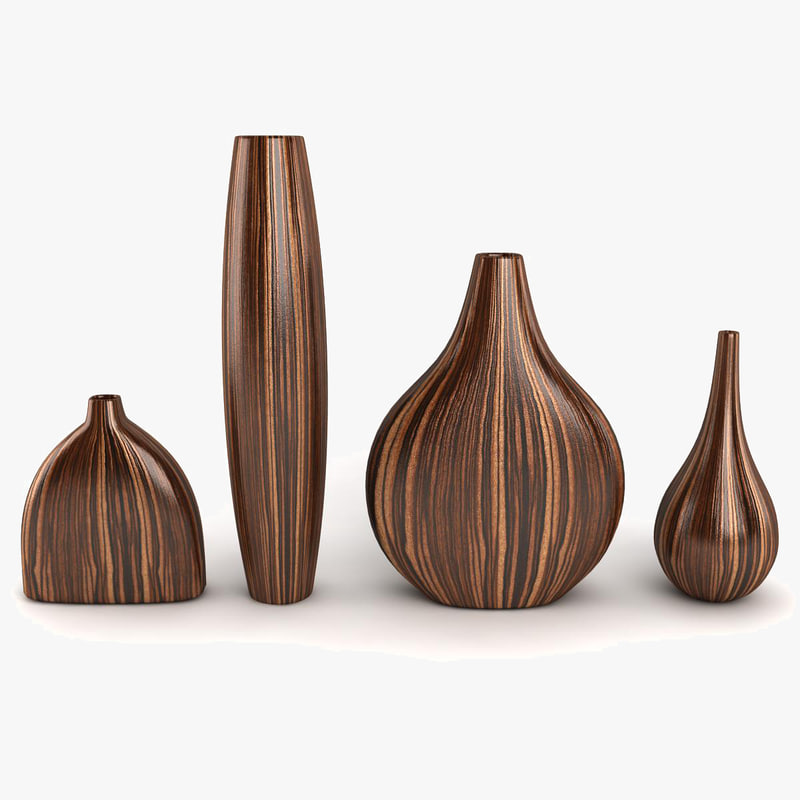 3d model vase decor for Interni 3d