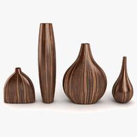 3d model vase decor