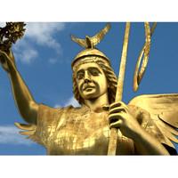 3d victoria victory column berlin model