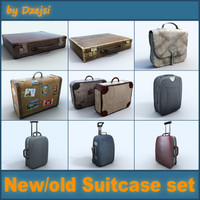 New / Old suitcase collection