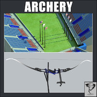 Archery Arena and Recurved Bow