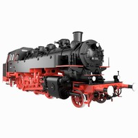 3d railway germany model
