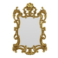 Ceppi 2333 baroque wall mirror