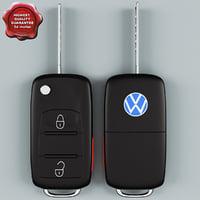 Remote Key Fob Volkswagen