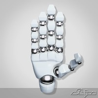 3d robotic hand model