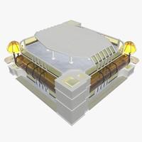 3d silence building model