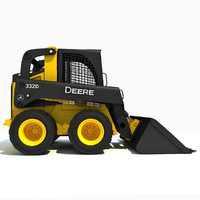 deere skid steer loader max