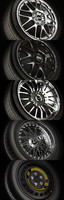 3d model wheels rims tires