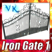Iron Gate 01 and High Resolution Textures