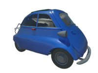 car isetta 3d 3ds
