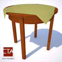 maya vintage end table