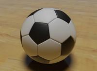 soccer ball 3d dwg