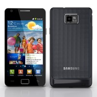 3d samsung i9100 galaxy s2 model