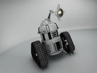 robot mjk645 3d max